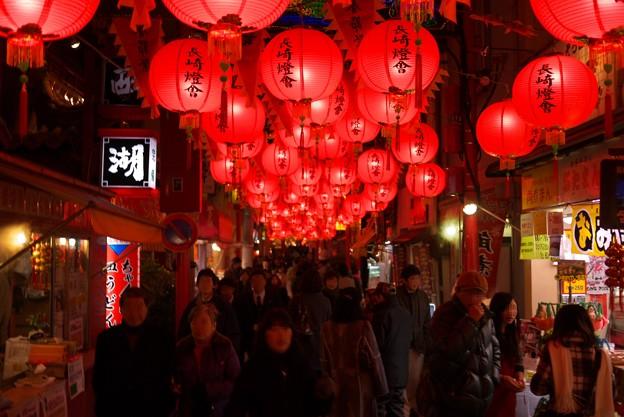 写真: 2012.01.26 長崎 新地中華街 ランタンフェスティバル