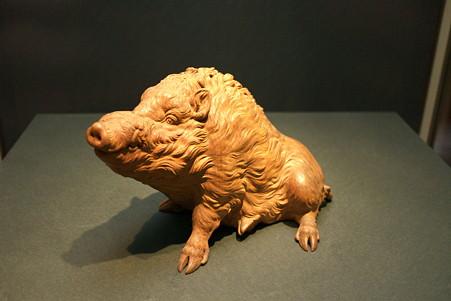 2011.02.06 東京国立博物館 野猪 石川光明