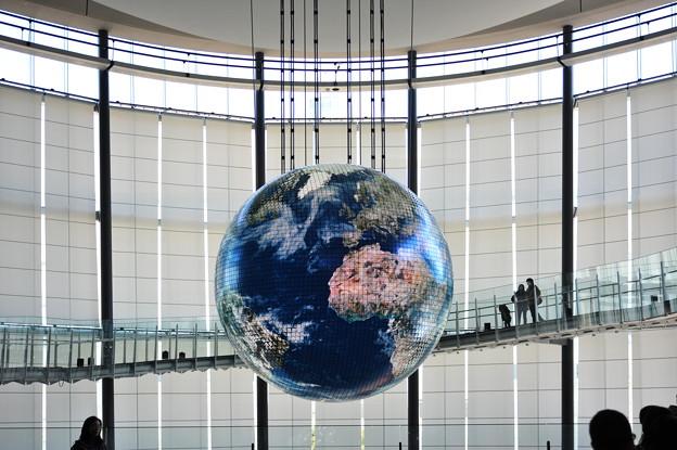 Photos: 地球か・・・