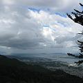 坂本ケーブルからの琵琶湖