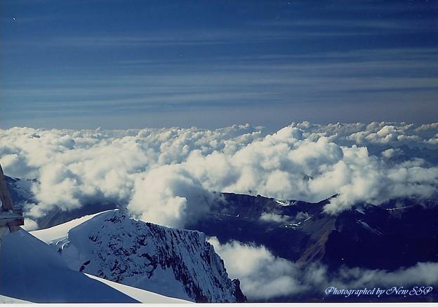 アルプスの雲海