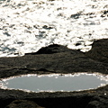 Photos: 海と水溜り