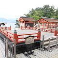 Photos: 110516-55厳島神社・国宝 高舞台