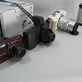 Photos: 手持ちのカメラ達