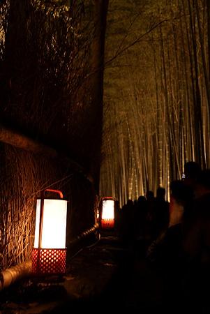 嵐山竹林灯路