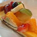 写真: 季節の果物タルト キルフェボン京都