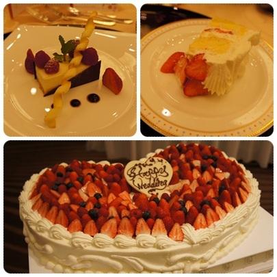 20120430 デザート&ウェディングケーキ