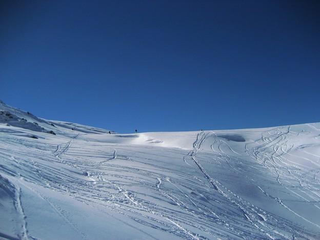 立山 シュプール  2007-11-25
