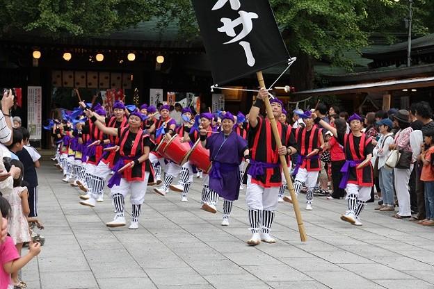 奉納 エイサー踊り1