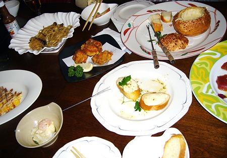 旭川大雪地ビール館女子会プランで食べまくりの図(笑)