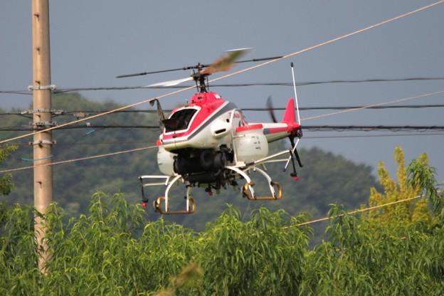 農薬空中散布 無人ヘリコプター 1