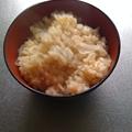 写真: 新玉ねぎご飯