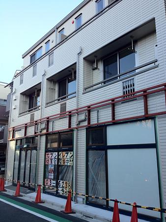 南千住駅西口 セブンイレブン新店舗(2012/1)