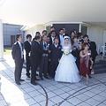 Photos: 結婚式日和だ♪