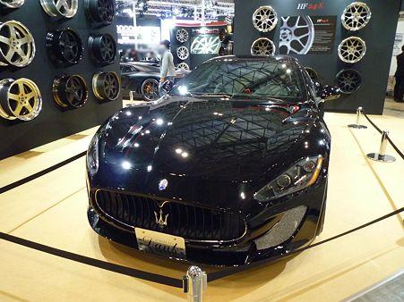 TOKYO AUTO SALON 2012 Maserati Granturismo